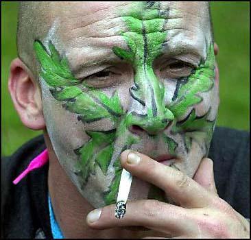 Запрет на курение марихуаны