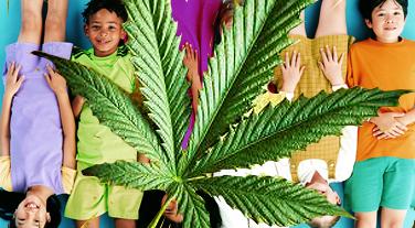 Лечение больных детей марихуаной