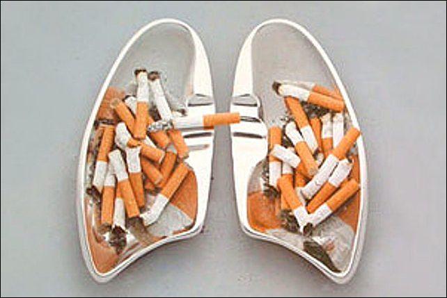 Вред от курения сигарет для легких