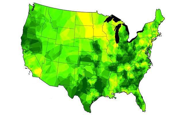 Цены на марихуаны в штатах