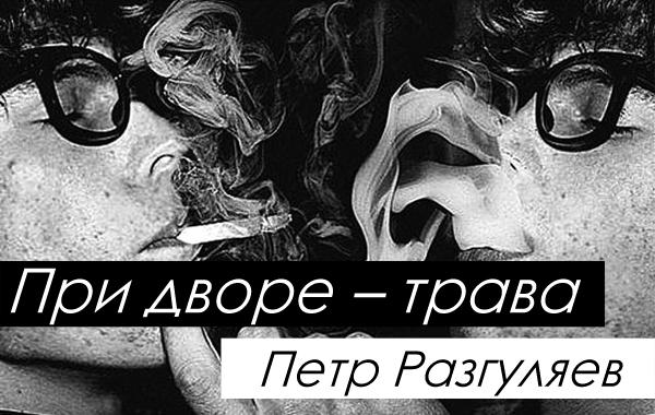 При дворе - Трава, книга Петра Разгуляева