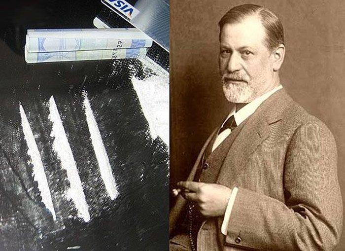 Зигмунд Фрейд и кокаин
