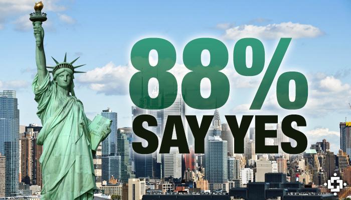 88% сказали да