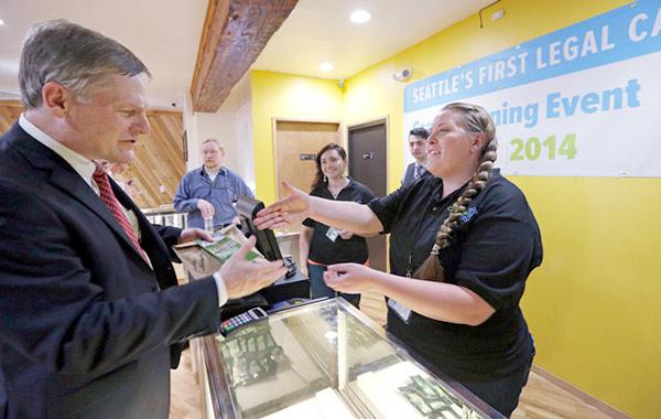 Губернатор покупает травку