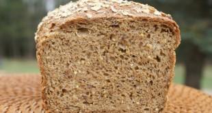 Хлеб ржаной с коноплёй