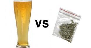 Алкоголь и марихуана