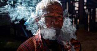 Курение конопли в Бутане