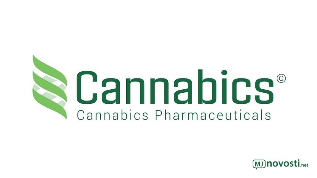 Логотип Cannabics Pharmaceuticals