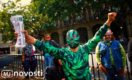 марихуана в Мексике и Колумбии
