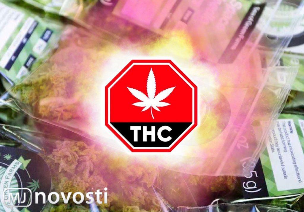 ТГК в марихуане