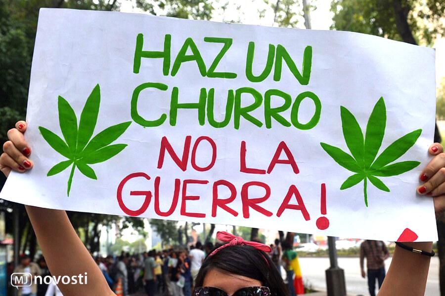 Легализация конопли в Мексике